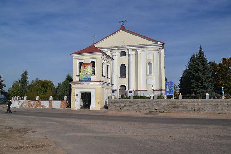 Костёл Непорочного Зачатия Девы Марии (Беларусь, Udziela)