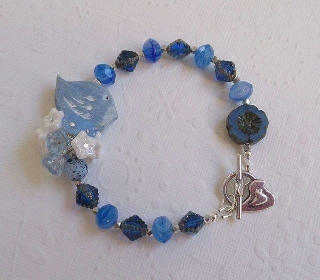 blue bird bracelet £18.00