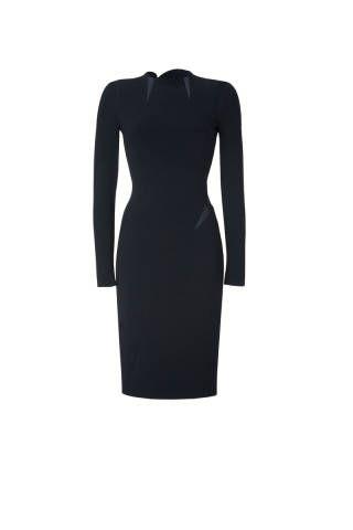 "<p>Emilio Pucci Silk Trim Sheath Dress, $2,589; <a href=""http://www.shopstyle.com/action/apiVisitRetailer?id=362744005"