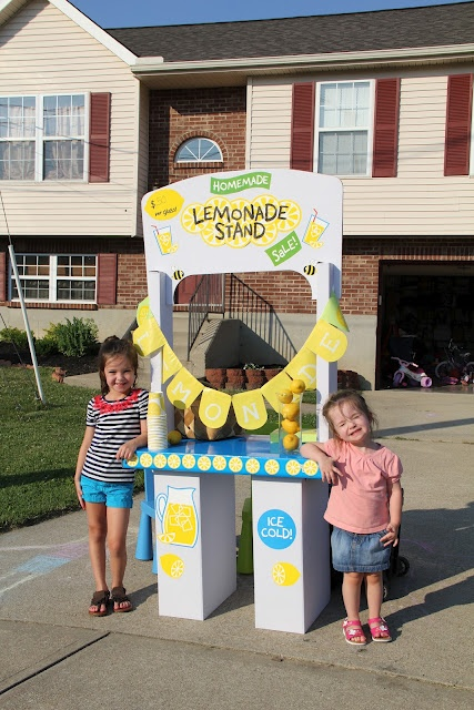 1000 images about lemonade stand on pinterest toddler for Cool lemonade stand ideas
