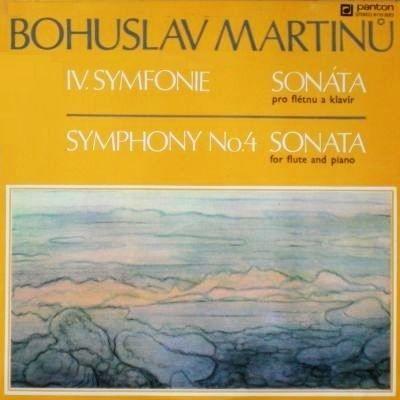 Music is the Best: Bohuslav Martinů – Symphony No. 4, Sonata for Flut...