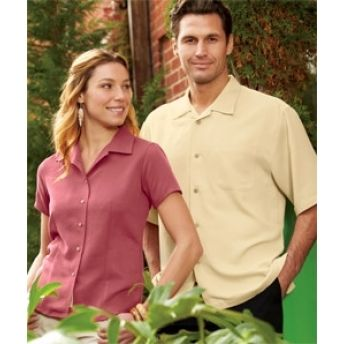 CW407 Cubavera Ladies' Bedford Cord Camp Shirt. buy at wholesale rates