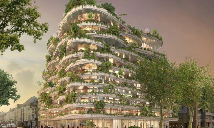 Vincent Callebauts Arboricole-Turm bringt vertikale Landwirtschaft in die Stadt …