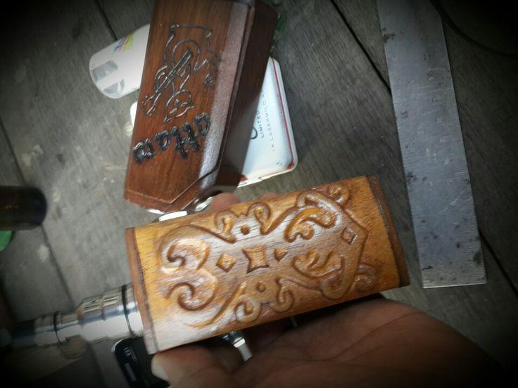 My DIY modzboxwood etnik vaping