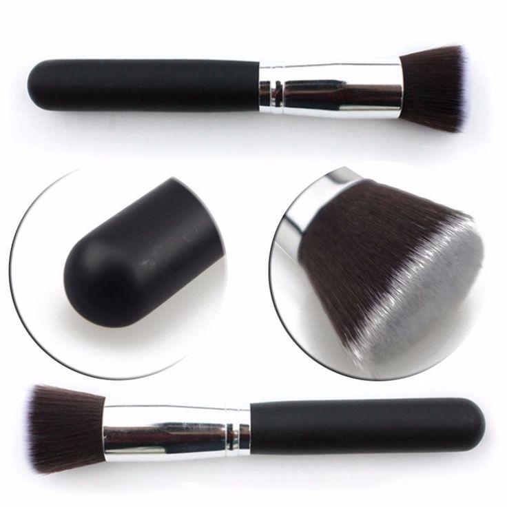 High Quality Blush Foundation brush F112 Makeup Brush Soft Flat Hair Wonderful Brushes Beauty Tools #Affiliate