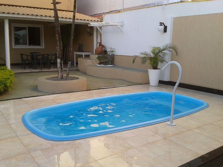 Quintal com piscina de fibra pesquisa google piscinas - Piscinas grandes baratas ...