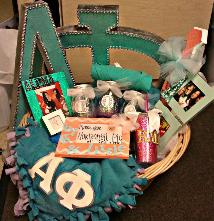 This is what I mean by a basket of stuff for your little! So cute!!