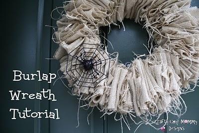 BURLAP WREATH for halloween: Fall Burlap Wreaths, Halloween Fall, Fall Wreaths, Halloween Wreaths, Craft Ideas, Diy, Crafty Chic, Crafty Ideas, Crafts