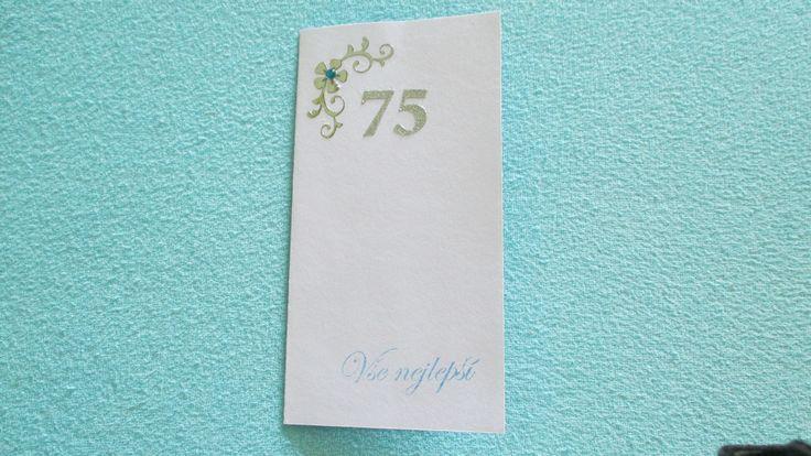 Přání  k 75. narozeninám