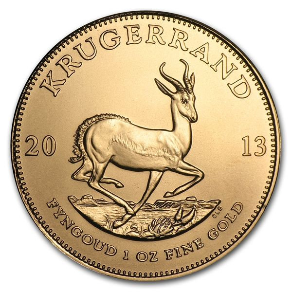 Gold Krugerrands were first introduced in 1967 to help market South African Gold, and today these coins are one of the most popular forms of Gold ownership in the world. Gold Krugerrand coins are a great way to diversify one's wealth. Buy Gold Krugerrands to add to your Gold collection or Gold investments.