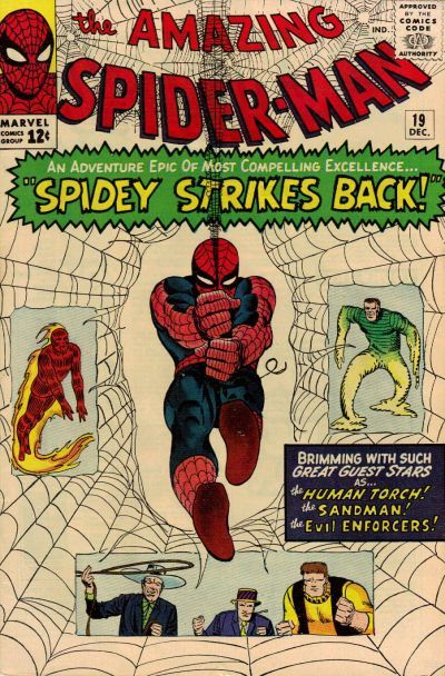 The Amazing Spider-Man - Cover by Steve Ditko