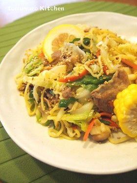 大人気!野菜たっぷり塩焼きそば by とむまろ [クックパッド] 簡単おいしいみんなのレシピが244万品
