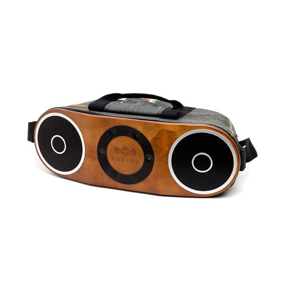 We hope you like jammin' too! House of Marley portable music system. Ideal for beach parties :)