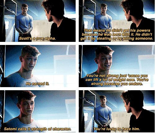 """Teen Wolf Season 04 Episode 11 """"A Promise to the Dead"""" Liam Dunbar and Bret Talbot"""