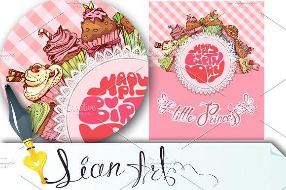 Happy Birthday Little Princess Happy Birthday Invitation Card Happy Birthday Pop Up Card Templates