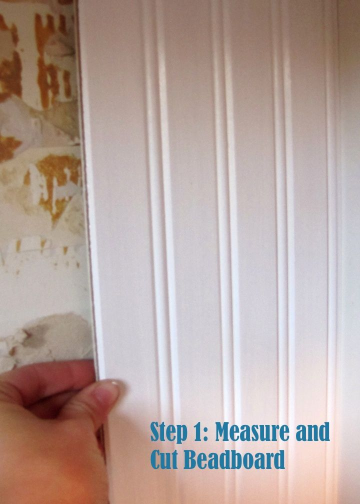DIY Bead Board Backsplash This Mamas