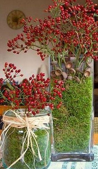 ♆ Blissful Bouquets ♆ gorgeous wedding bouquets, flower arrangements & floral centerpieces - berry bouquets for christmas
