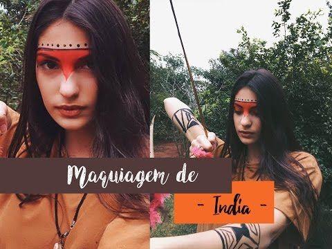 Maquiagem de India - YouTube
