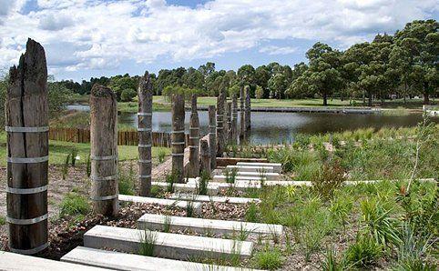 Water Sensitive Urban design at Sydney Park