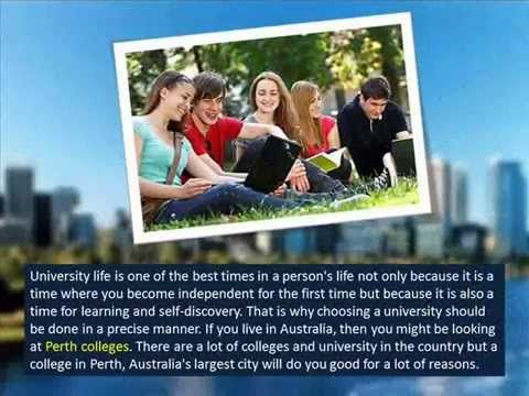 Factors to Consider When Choosing the Best Colleges in Perth - YouTube