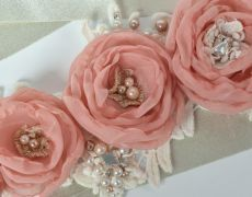 "Wedding belt,Fabric flowers belt,Lace belt,Sash belt ""SPECIAL VINTAGE"" by Art accessories made with love on https://www.breslo.ro/aura.angeline"