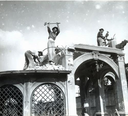 Avenida Paulista demolição Belvedere Trianon construído em 1916