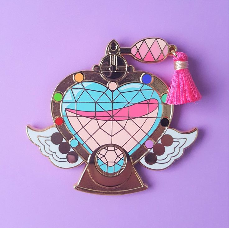 Eternal Perfume Pin