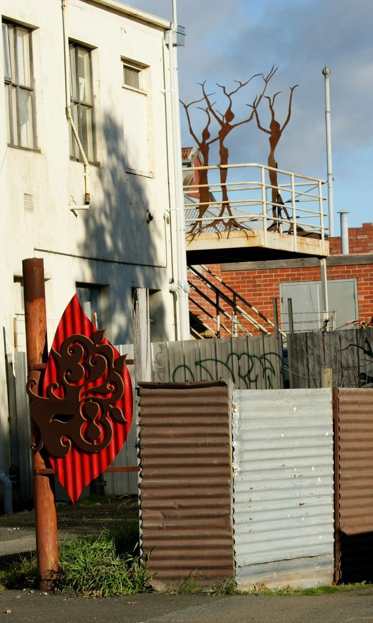 Ballarat, residential art, letterbox art