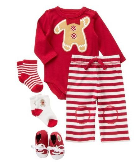 boy christmas outfit - crazy 8 gingerbread boy