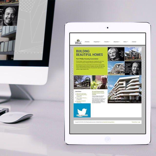 Websites for associations? We do those too. Check out this one from our #portfolio - Port Phillip Housing Association. #webdesign #wecandoit #webdeveloper #responsive