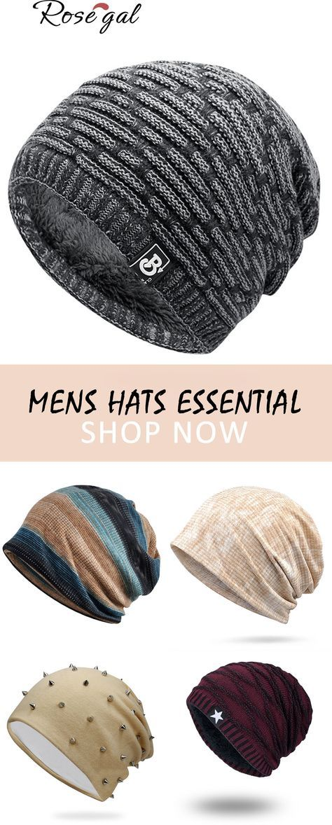 Mens hats essential for men winter and fall season 74a40209f61