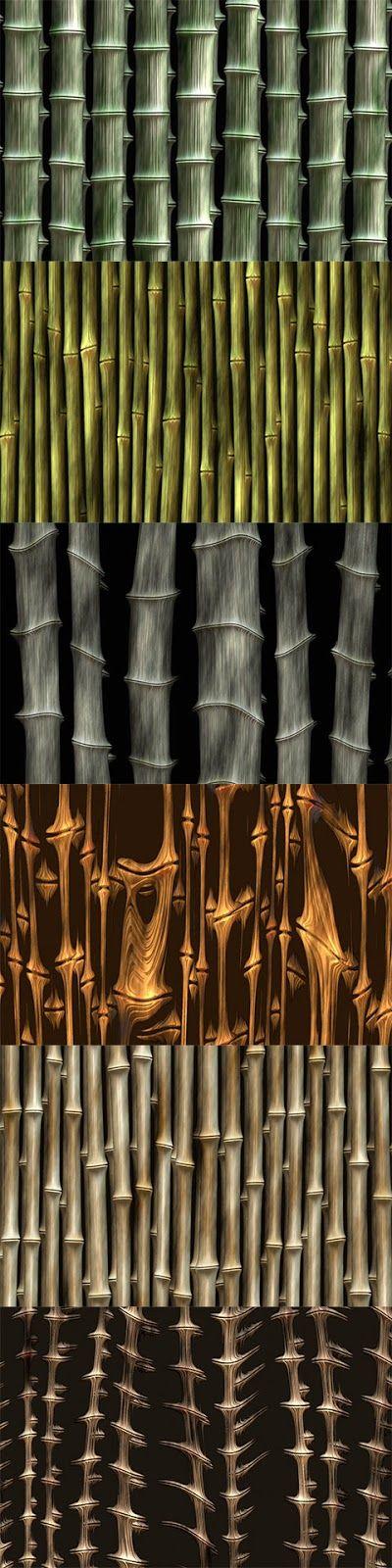 Free PSD Bamboo Textures