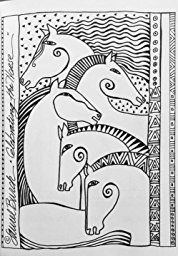 The Art of Laurel BurchTM Coloring Book: 45+ Original Artist Sketches to Color for Fun & Relaxation: Laurel Burch: 9781617452765: Amazon.com: Books