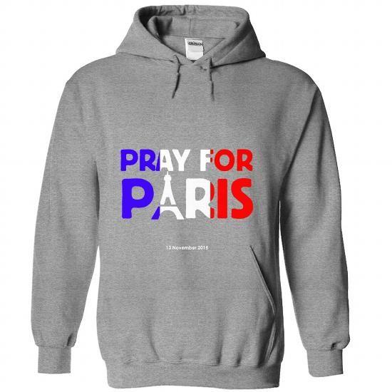 I Love Pray for Paris Shirts & Tees