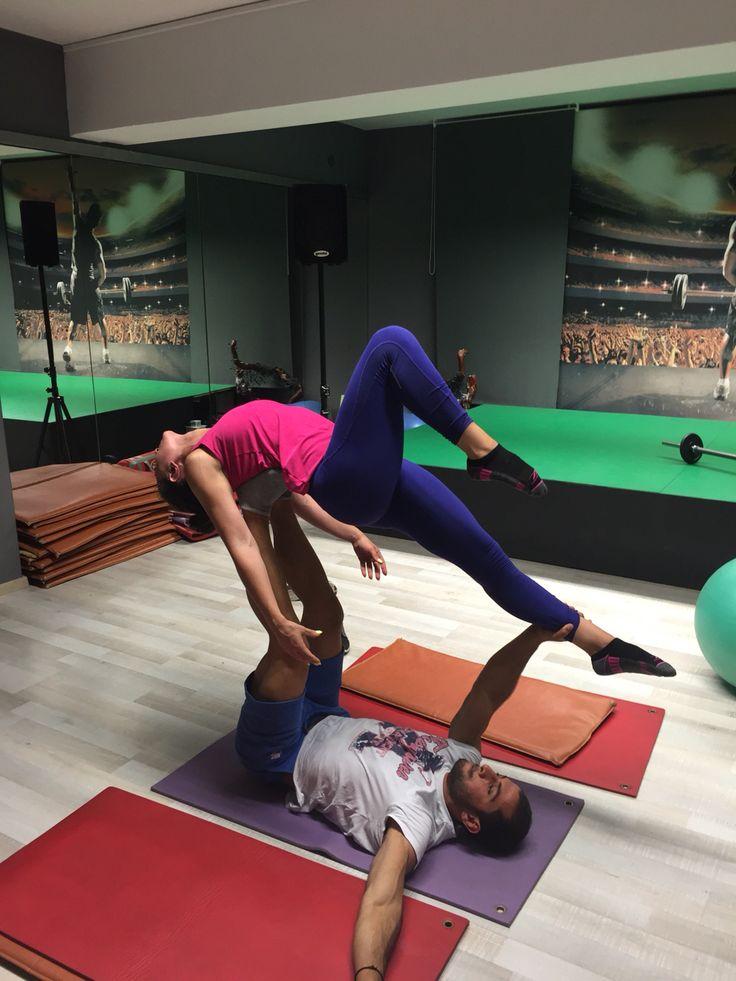 Enjoy acro yoga