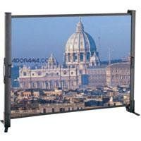 Da-Lite Presenter Video Format Screen 50 Inch Diagonal, Wide Power Surface by Da-Lite. $209.99. Smallest, Most Compact Screen Available. Setup is a snap for the lightweight, tabletop Presenter screen. Simply fold out the legs and open the case.