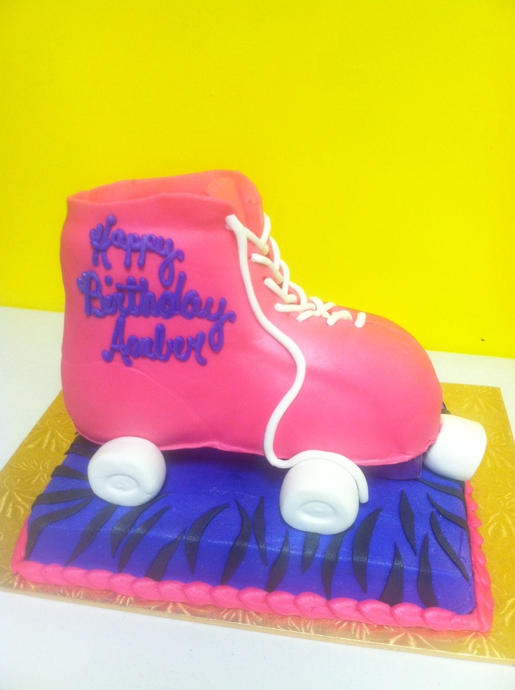 Another fun night of skating with new freindsa nd old freinds to retro musica. Feb 2013  CMC.   Roller Skate Cake at ISC Cherry Hill