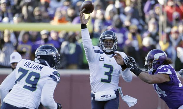 When a shotgun snap sails over a quarterback's head, it's usually time for damage control. When it happened near midfield for Russell Wilson, it was a chance to do some damage.
