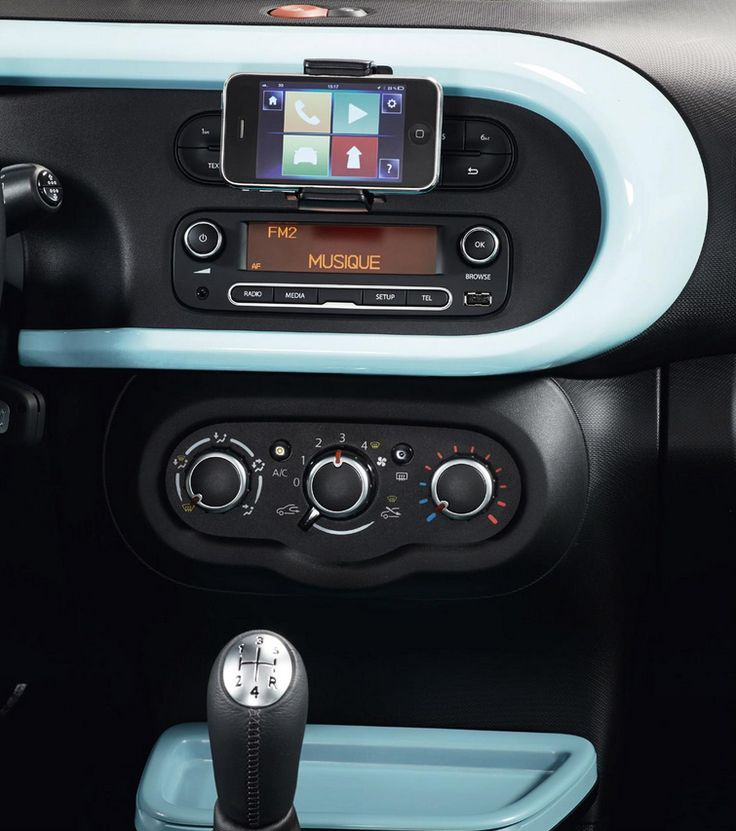 Inside the new #Renault #Twingo