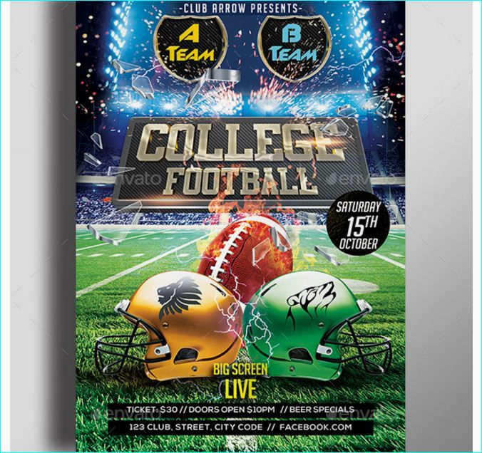 50 best football flyer templates images on pinterest business marketing flyer template and