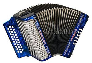 NEW Hohner Corona II Classic Dark Blue 3523 Key FBbEb (Fa) - with FREE Gig Bag, Straps, Instructional Booklet and Corona Back Pad - Free Ship to USA - Cheap World Shipping - Made in Germany!  http://stores.ebay.com/music-for-all-03   http://www.musicforall.biz/