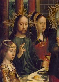 The Marriage at Cana (detail) - Gerard David