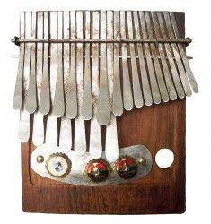 Mbira in G in Zimbabwean Tuning called Mavembe. It is like Western minor tuning! Handmade by Dingiswayo Juma