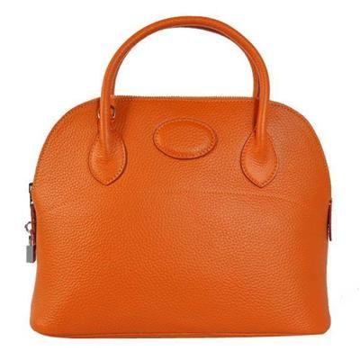 Hermes >  Bolide Handags >  Hermes Bolide 31CM Tote Bags Clemence H1031 Orange Replica