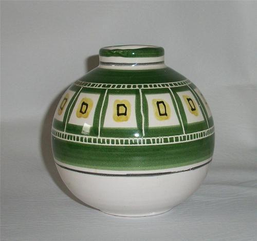 Mid Century Norway Pottery Bud Vase by Kare Berven Fjeldsaa KFB Vintage 1958 | eBay
