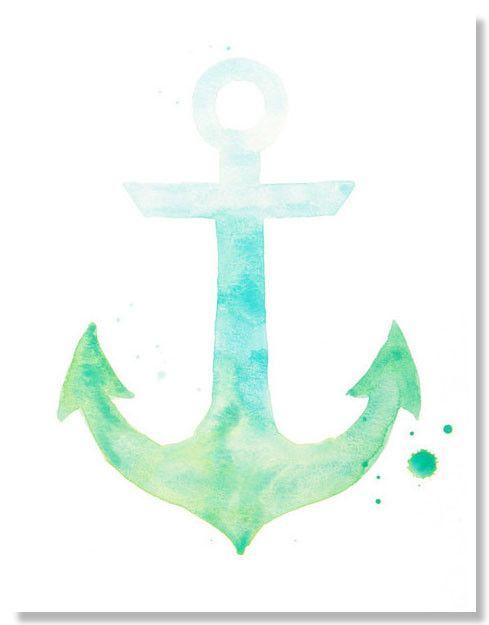 anchor watercolor - ค้นหาด้วย Google