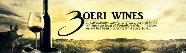 Στο πανέμορφο χωριουδάκι της Bionzo, που βρίσκεται στην πόλη της οινοποίησης Costigliole d'Asti, το κτήμα Boeri έχει παράγει κρασί από το 1890. Οι αμπελώνες εκτείνονται πάνω στο λόφο Bricco Quaglia, η οποία προσφέρει το τέλειο terroir για την καλλιέργεια σταφυλιών της υψηλότερης ποιότητας.