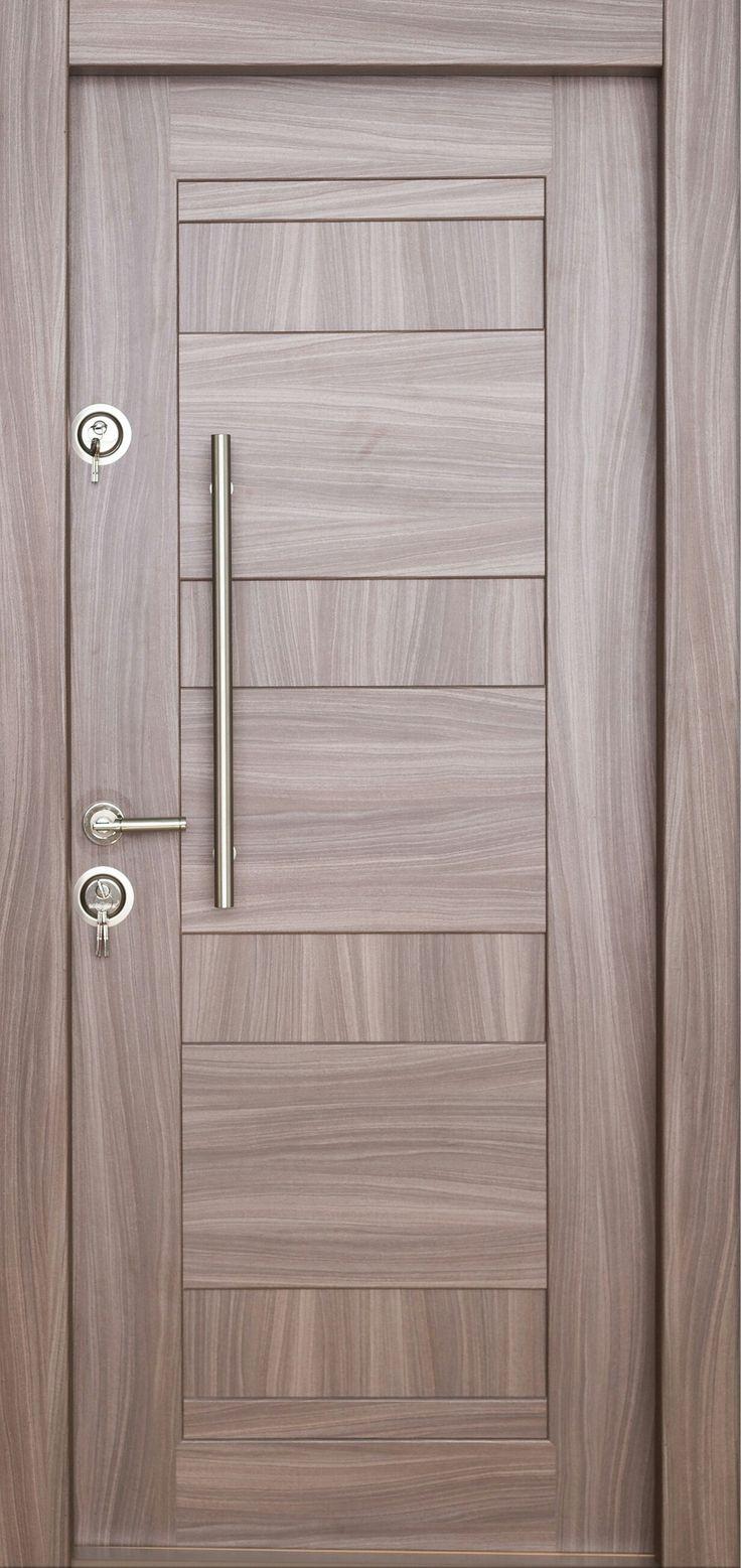 Arta Door Metalic Door with MdfLam Arhitect