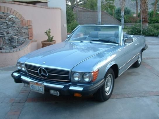 cars for sale 1985 mercedes benz 380sl in palm springs ca 92264. Cars Review. Best American Auto & Cars Review