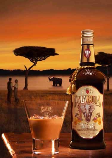 Amarula is a cream liqueur made with cream and the fruit of the African Marula tree.
